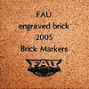 "PAVING THE WAY FOR THE FUTURE OF FAU...LITERALLY  <br /> <br /> Brick Sidewalk Fund Raising Campaign:  The FAU Student Alumni Association (SAA) is offering everyone a chance to purchase bricks and have them engraved with a person's name, an organization's name or a special message. These bricks will create a sidewalk that will lead into the proposed FAU Football Stadium.  Anyone purchasing a 4x8"" or 8x8"" brick will receive a corresponding 1x3"" or 3x3"" mini brick replica that will include a personalized, Vitrix® Blue engraving. All bricks are guaranteed and will be used in conjunction with the proposed FAU Football Stadium. For any another questions, please contact Paul Metcalf at 561-297-1248 or metcalf@fau.edu. The estimated fair market value of the goods and services you received in exchange for your payment is $30 (4x8"" brick + replica) or $42 (8x8"" brick + replica).  Therefore, the tax-deductible portion of your payment is $45 (4x8"" brick + replica) or $83 (8x8"" brick + replica). Go to this link to complete the FORM for your Brick.  Please note on the form that you were referred by JimWilson's web-site so we know how your came to make your valued contribution; and please note, we receive no referral fees whatsoever. Marilyn and I purchased a number of large bricks too.  <a href=""http://fauf.fau.edu/NetCommunity/Document.Doc?&id=580"">http://fauf.fau.edu/NetCommunity/Document.Doc?&id=580</a>"