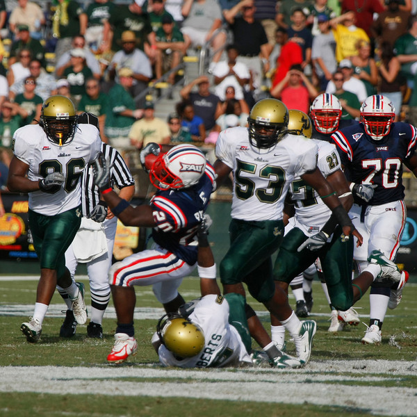 FAU vs USF 6OCT07 - (863)sq