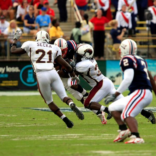 FAU Football vs University of Louisiana-Monroe 27Oct07 - (504)sq
