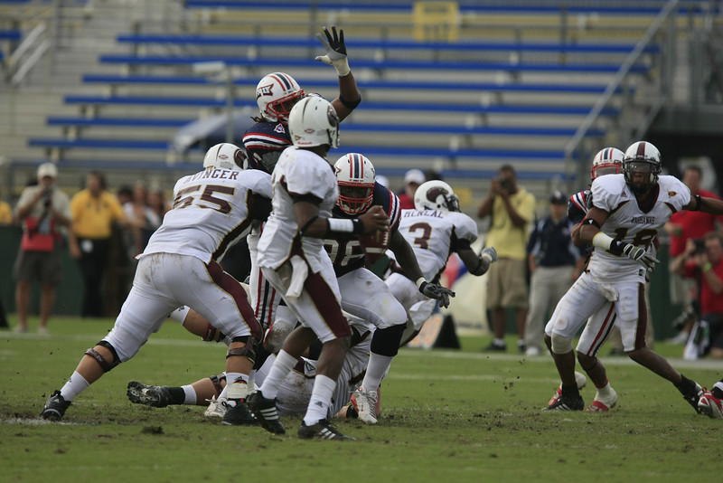 FAU Football vs University of Louisiana-Monroe 27Oct07 - (551)