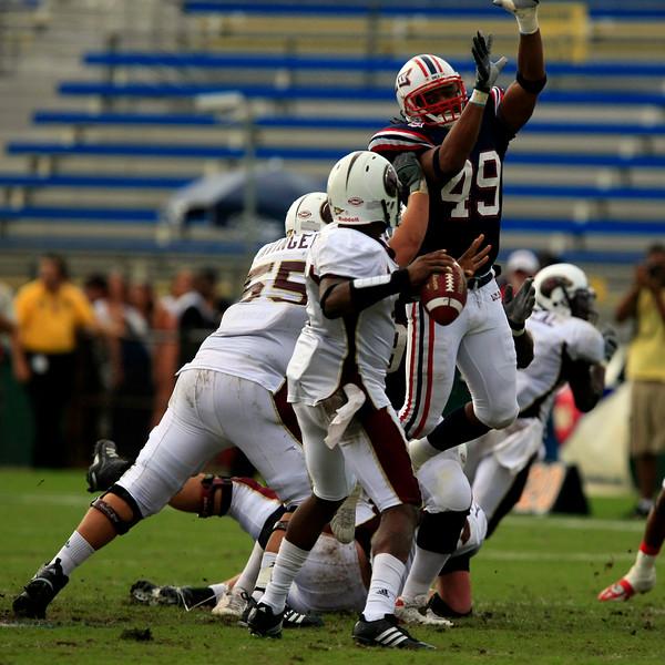 FAU Football vs University of Louisiana-Monroe 27Oct07 - (552)SQ