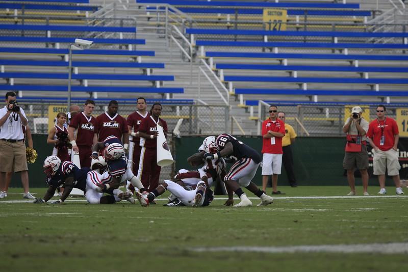 FAU Football vs University of Louisiana-Monroe 27Oct07 - (312)