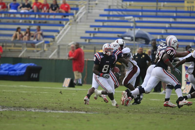 FAU Football vs University of Louisiana-Monroe 27Oct07 - (518)