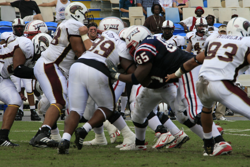 FAU Football vs University of Louisiana-Monroe 27Oct07 - (212)