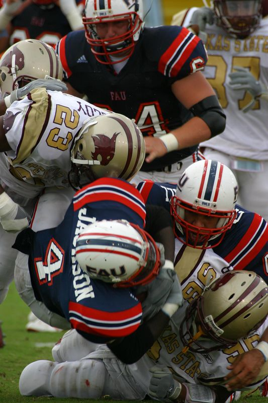 FAU Football vs SW Texas State 04-Oct-2003- 288