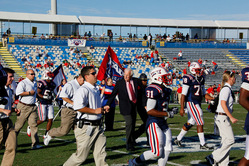 FAU Football vs Western Kentucky 2009NOV28  (35)-NR