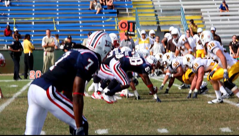 FAU vs Wyoming Cowboys 03 Oct 2009 VideoClip -  (10)