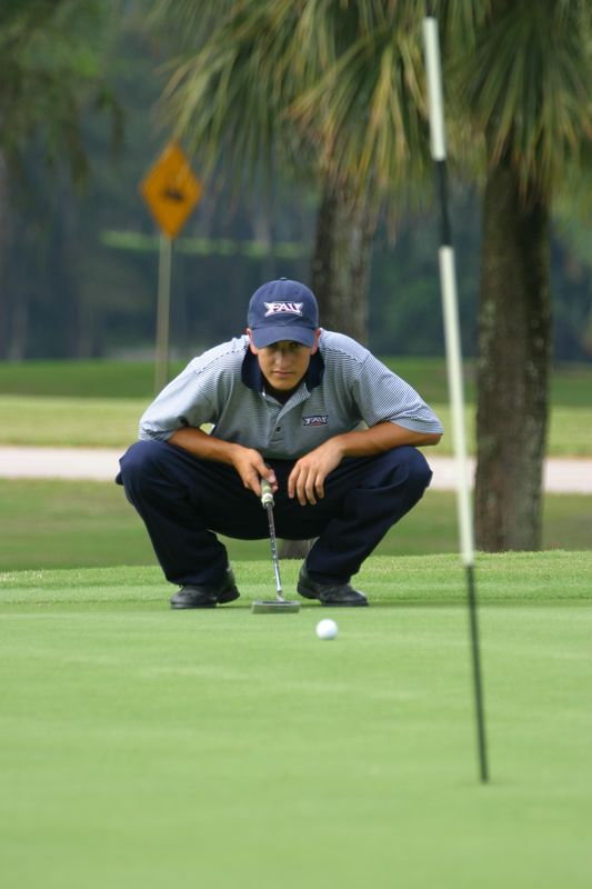 FAU Mens Golf 15 Oct 2003- 075