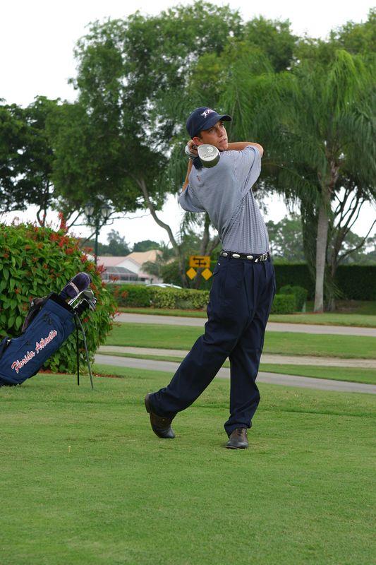 FAU Mens Golf 15 Oct 2003- 048