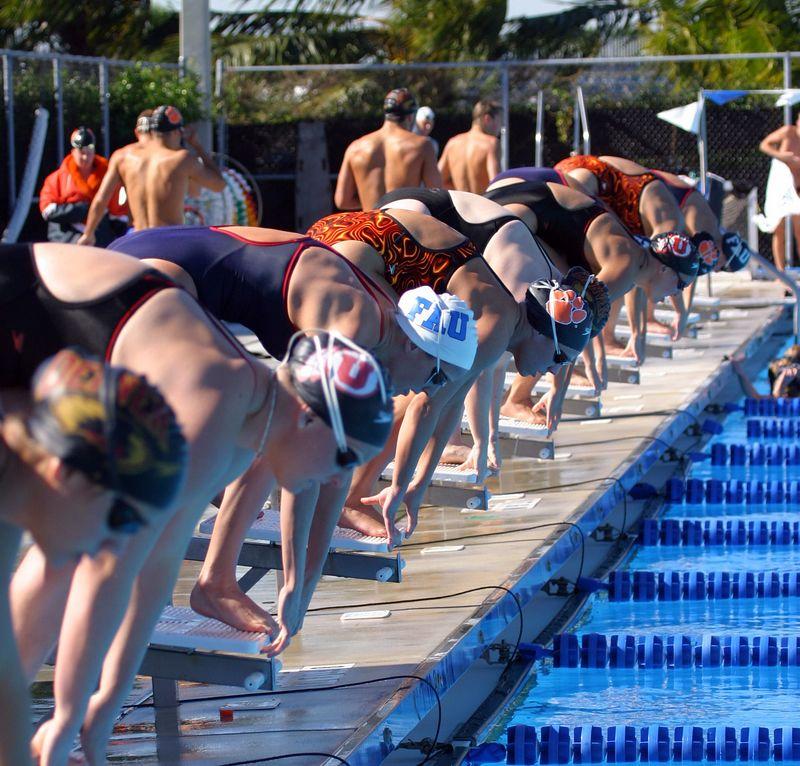 FAU Swim vs Clemson Denver Utah 12-20-03 0002