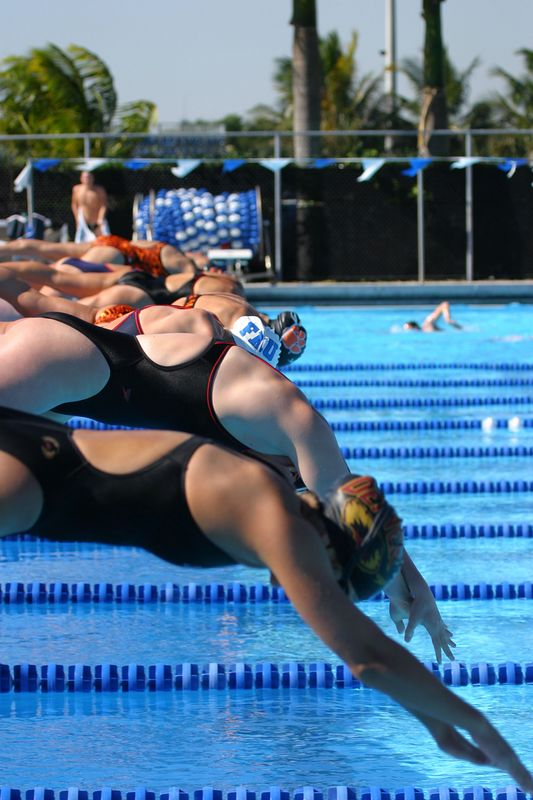 FAU Swim vs Clemson Denver Utah 12-20-03 0046