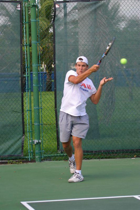 FAU Tennis 16 Oct 2003- 028