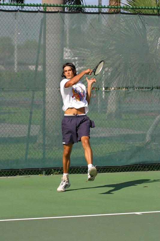FAU Tennis 16 Oct 2003- 063