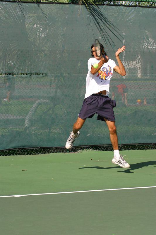 FAU Tennis 16 Oct 2003- 061
