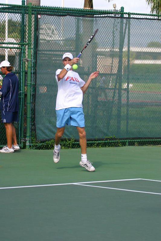 FAU Tennis 16 Oct 2003- 045