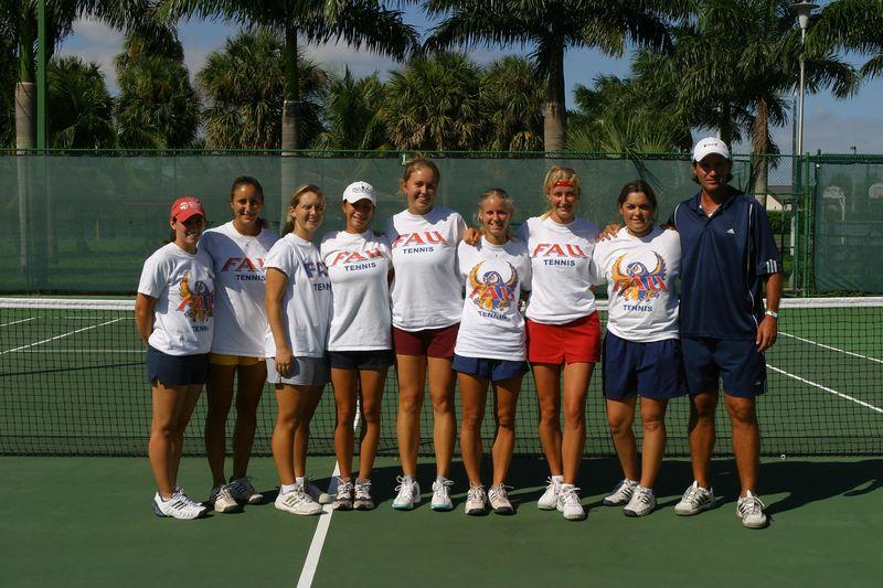 FAU Tennis 16 Oct 2003- 219