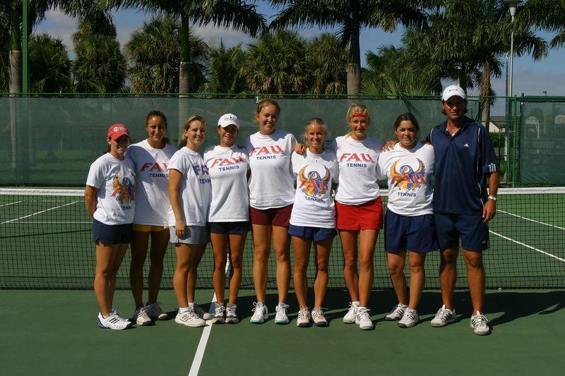 FAU Tennis 16 Oct 2003- 220