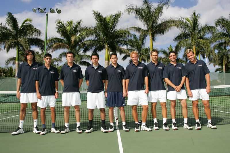 FAU Tennis - Mens  Feb 2005 - 0023