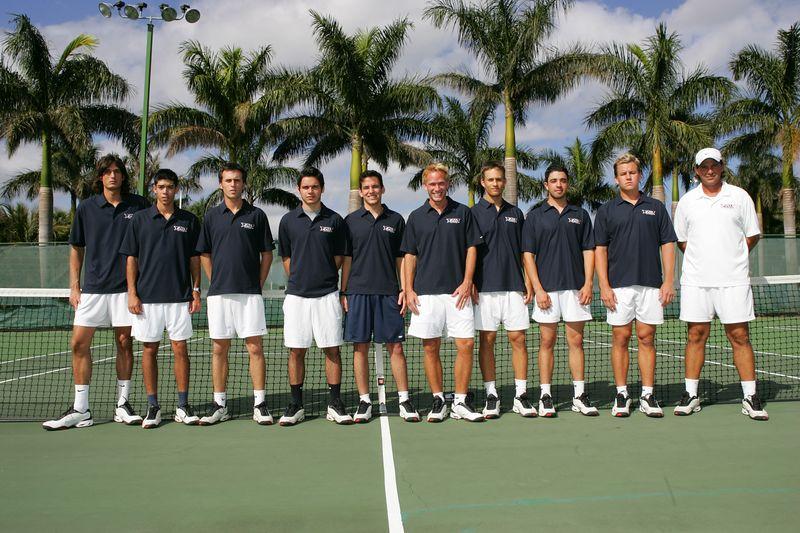 FAU Tennis - Mens  Feb 2005 - 0025