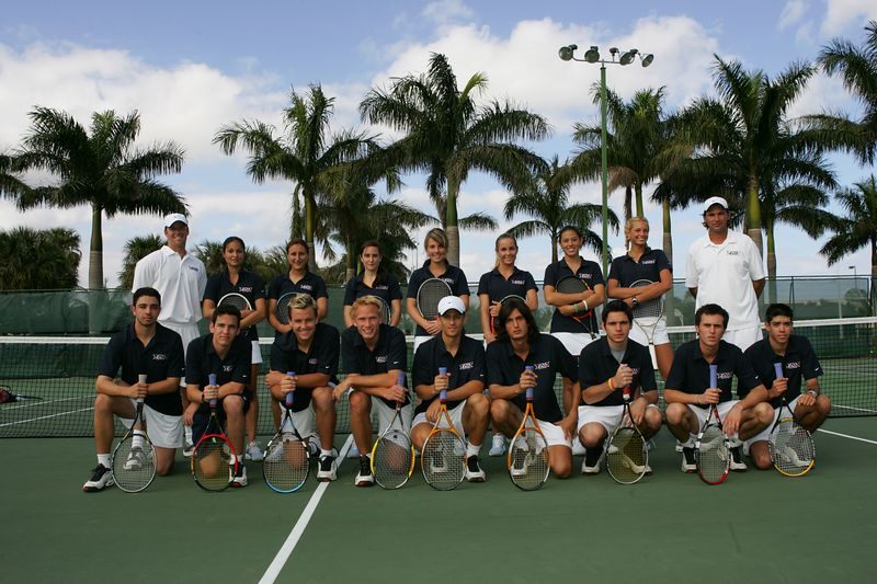 FAU Tennis - Mens  Feb 2005 - 0028