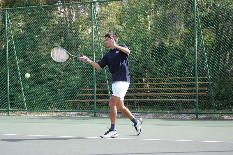 FAU Tennis - Mens  Feb 2005 - 0043