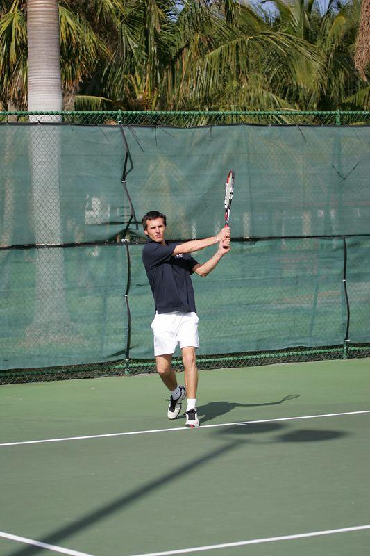 FAU Tennis - Mens  Feb 2005 - 0036
