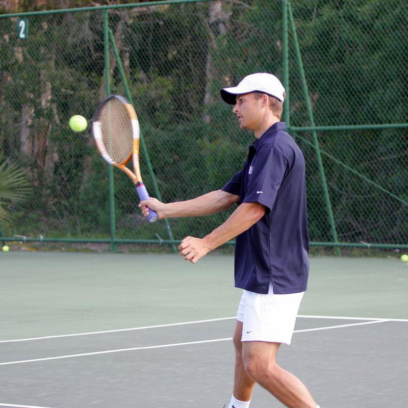 FAU Tennis - Mens  Feb 2005 - 0015