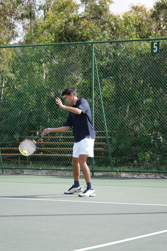 FAU Tennis - Mens  Feb 2005 - 0042