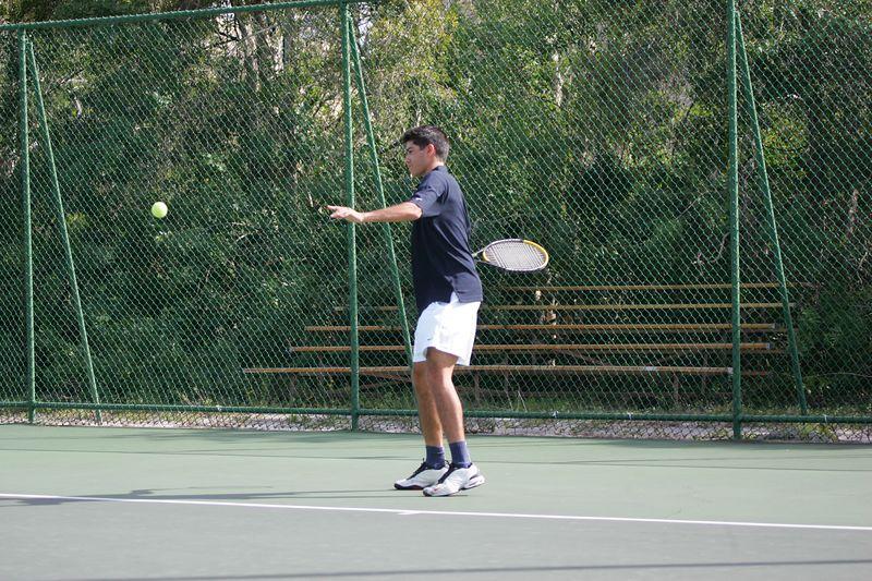 FAU Tennis - Mens  Feb 2005 - 0046