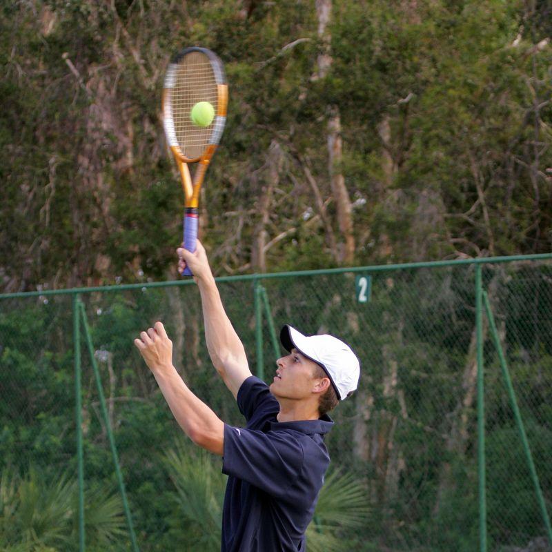 FAU Tennis - Mens  Feb 2005 - 0008