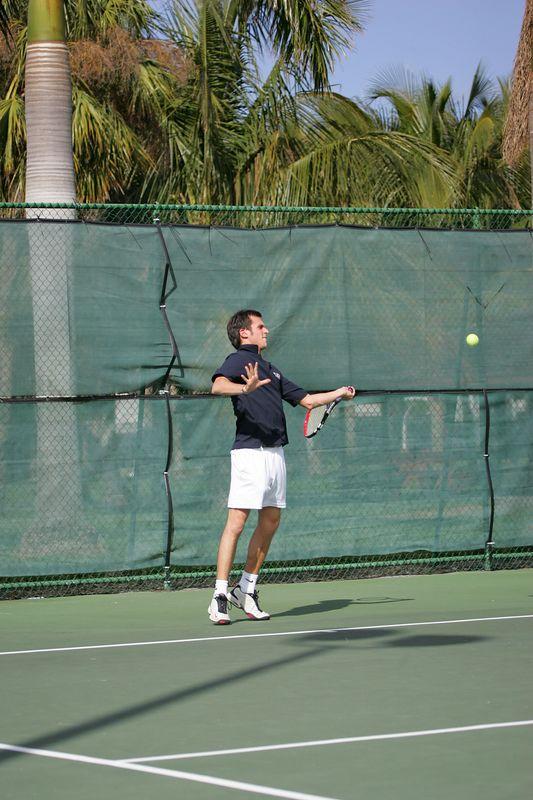 FAU Tennis - Mens  Feb 2005 - 0041