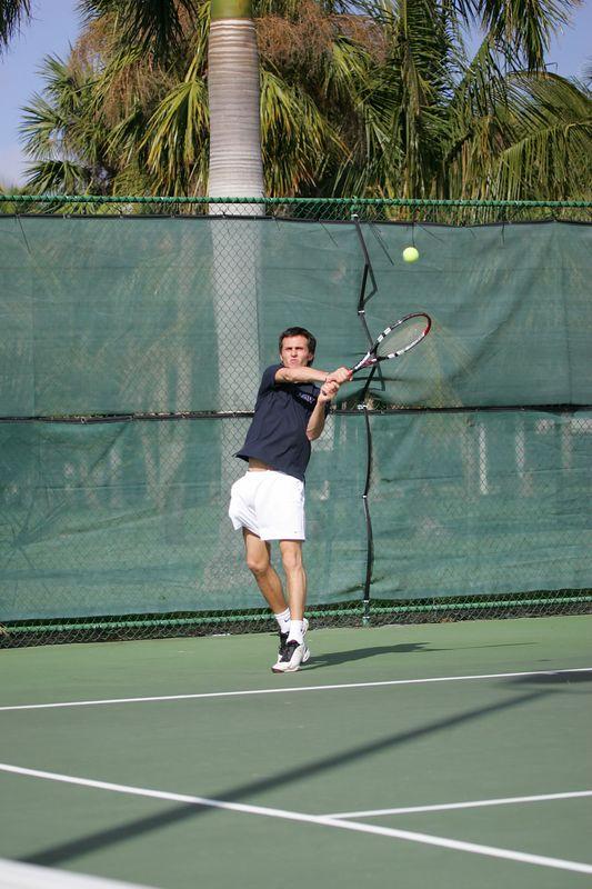 FAU Tennis - Mens  Feb 2005 - 0038