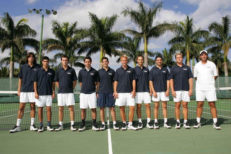 FAU Tennis - Mens  Feb 2005 - 0026