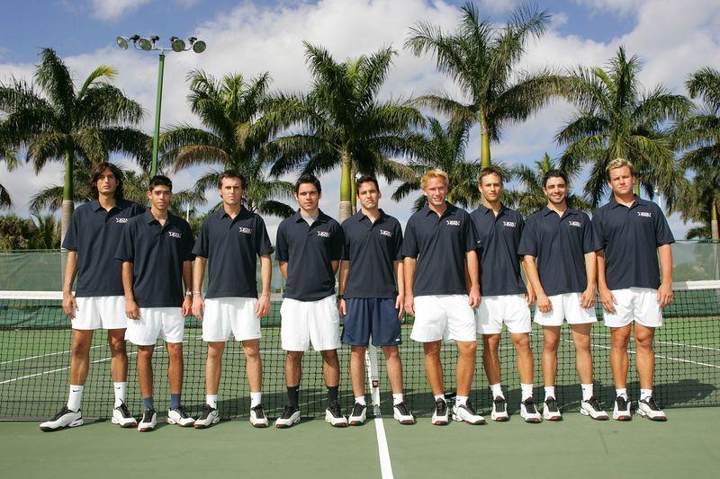 FAU Tennis - Mens  Feb 2005 - 0024