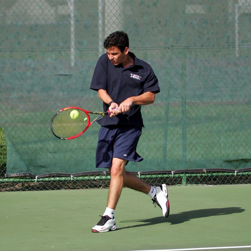 FAU Tennis - Mens  Feb 2005 - 0016