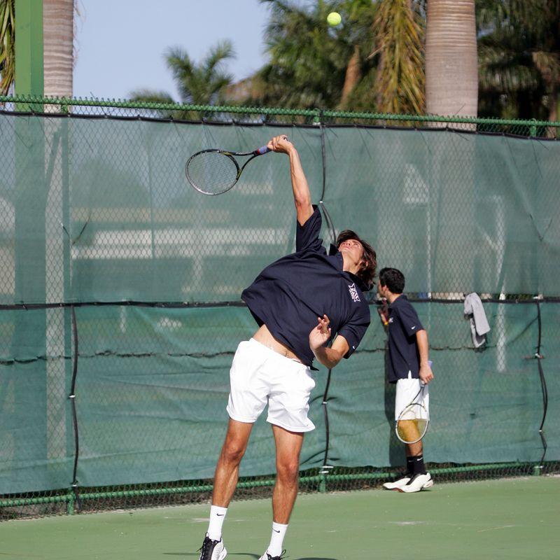 FAU Tennis - Mens  Feb 2005 - 0019