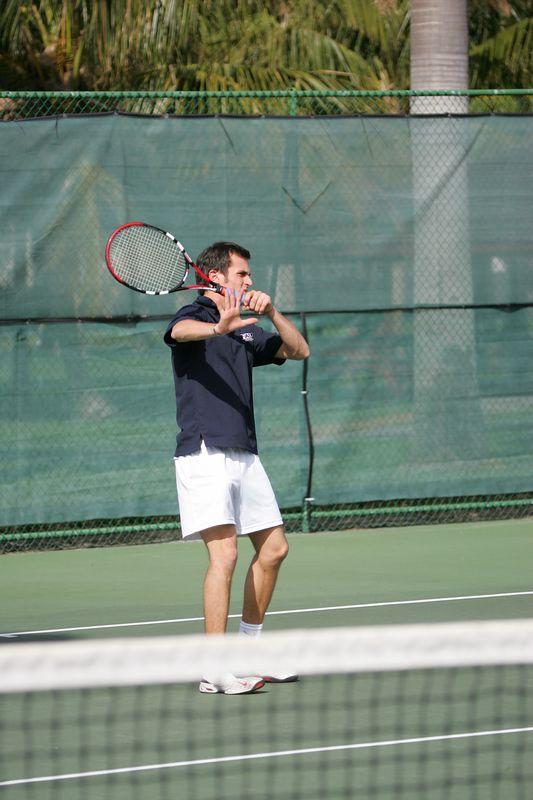 FAU Tennis - Mens  Feb 2005 - 0032