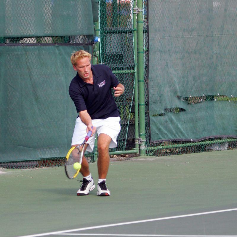 FAU Tennis - Mens  Feb 2005 - 0011
