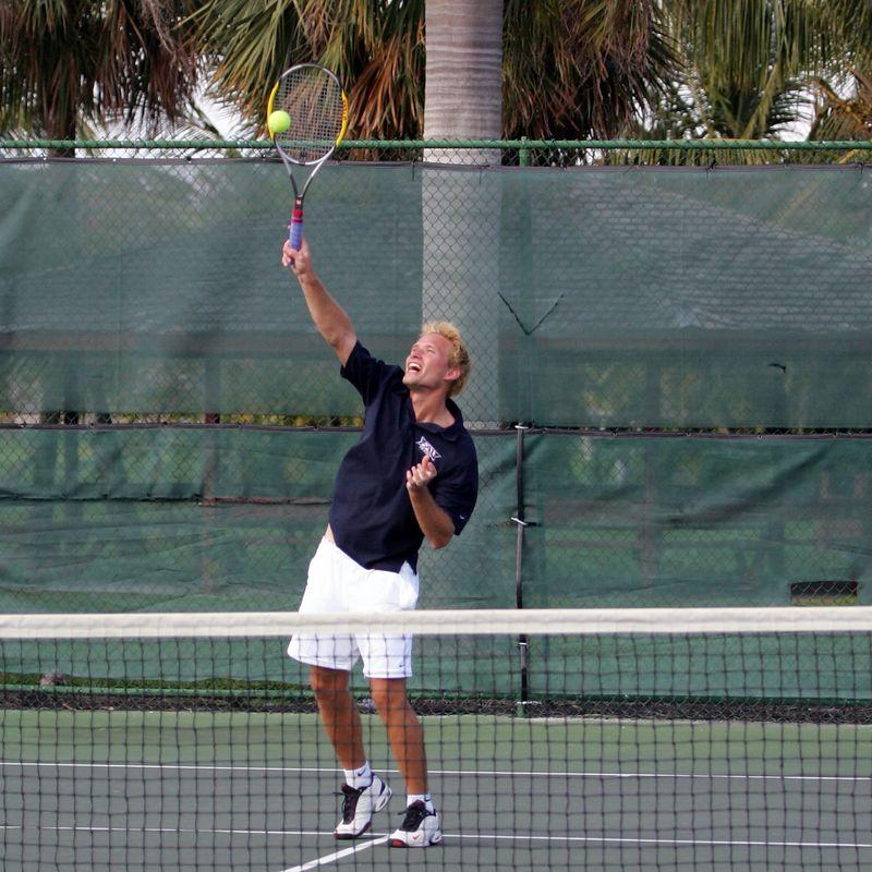 FAU Tennis - Mens  Feb 2005 - 0018