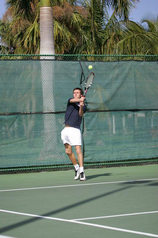 FAU Tennis - Mens  Feb 2005 - 0040