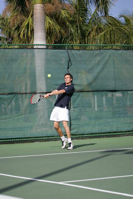 FAU Tennis - Mens  Feb 2005 - 0039