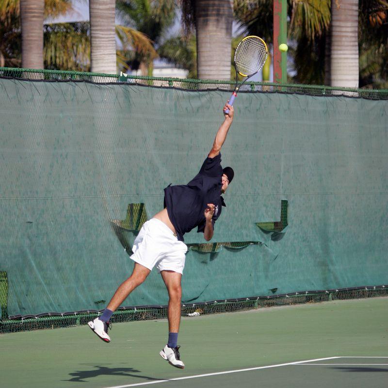 FAU Tennis - Mens  Feb 2005 - 0013
