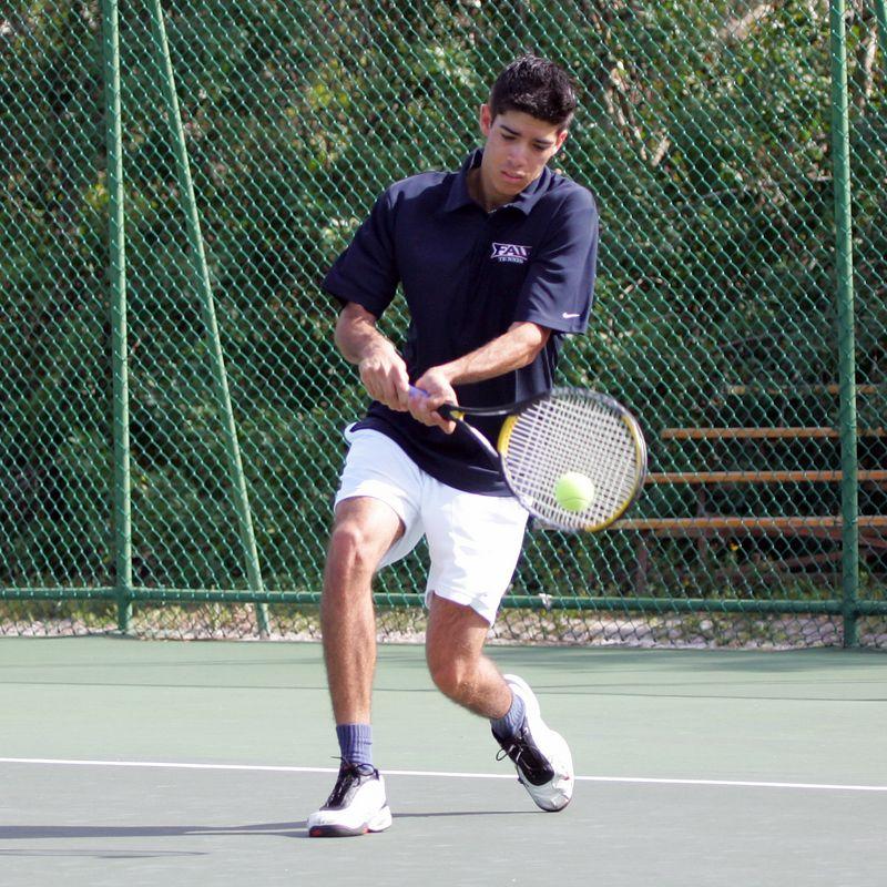 FAU Tennis - Mens  Feb 2005 - 0006