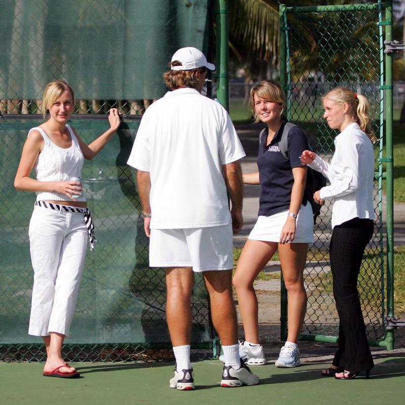 FAU Tennis - Mens  Feb 2005 - 0022