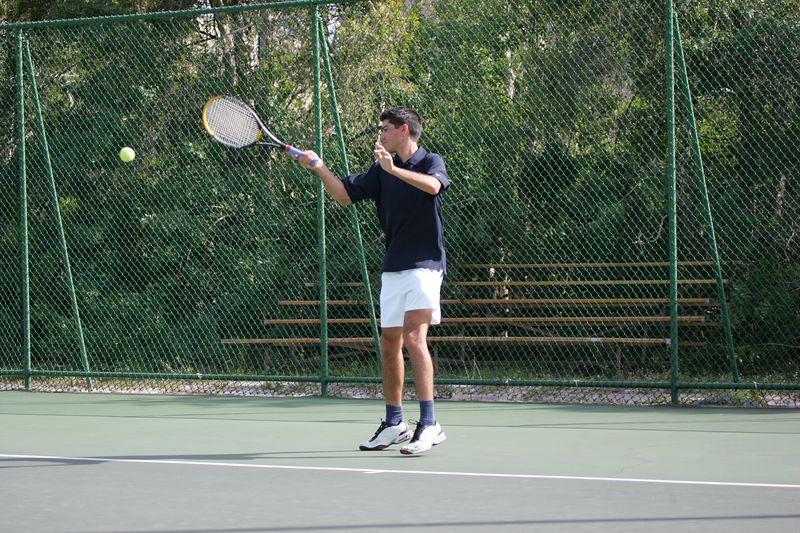 FAU Tennis - Mens  Feb 2005 - 0047