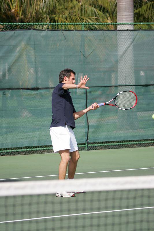 FAU Tennis - Mens  Feb 2005 - 0031