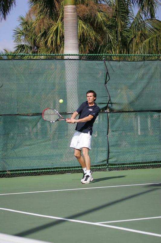 FAU Tennis - Mens  Feb 2005 - 0037