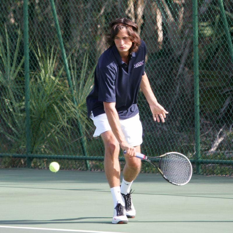 FAU Tennis - Mens  Feb 2005 - 0007