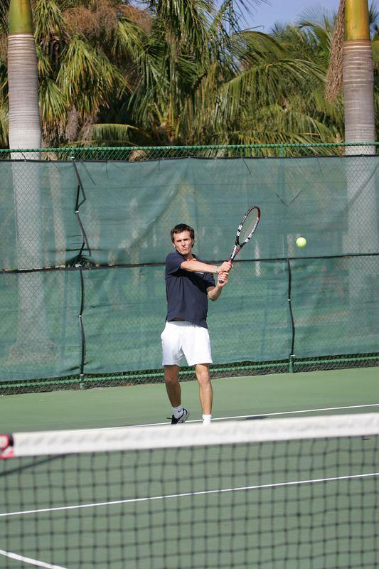 FAU Tennis - Mens  Feb 2005 - 0033