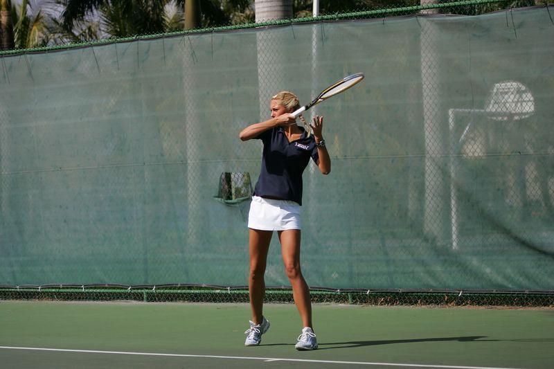 FAU Tennis - Womens Feburary 2005 -  1031